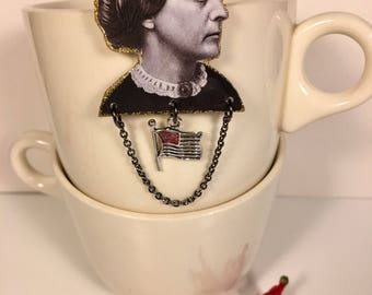 Susan B. Anthony Brooch suffragette feminist womans rights vote