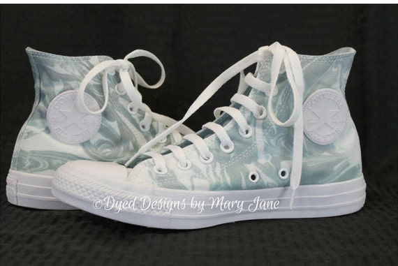 Chuck Taylor All Stars, Converse high top shoes, Gray marble converse, hand  dyed marbled converse, converse all star, Tie dyed shoes