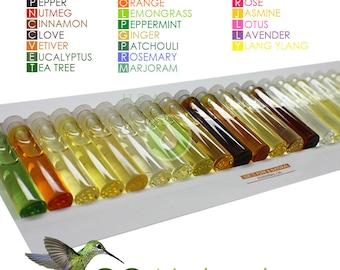 Essential oils sets- 100% Pure essential oils - Healing oils- Aromatherapy starter kit -Ayurveda oils - therapeutic- Floral oils- aroma-oils