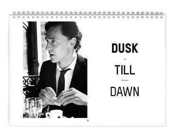 Tom Hiddleston Vol.2 - 2018 Calendar