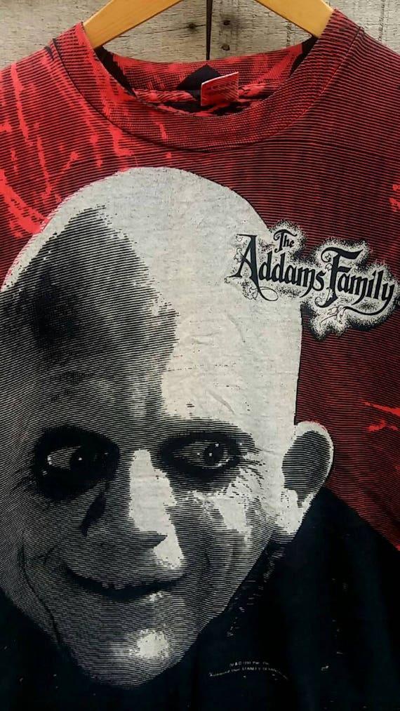 adam creepy spooky kooky 1991 shirt movie family vintage the Rare 0qxwXUpEy