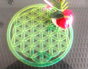Flower of life, acrylic glass (1309)