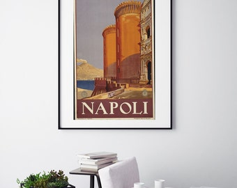 Napoli - Vintage Print - Italian Collection