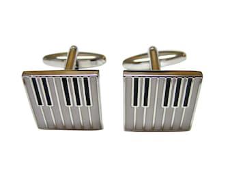Piano Key Design Cufflinks
