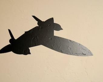 SR-71 Airplane v2 - Wall Decal