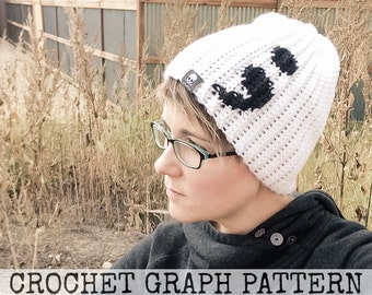 CROCHET GRAPH - Semicolon Color Grid for Crochet or Knit Beanies