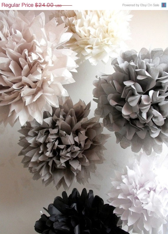 tissue paper wedding decorations 12 small tissue paper wedding decorations pompoms tissue 8017