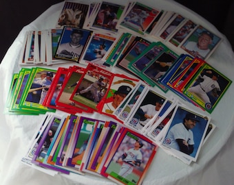 Detroit Tigers set of 199 vintage baseball cards for decoupage, framing, crafts or collecting AL mlb 1990-92 Ty Cobb Sparky FREE SHIPPING!