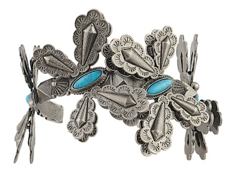 Valentino Turquoise Butterfly Cuff