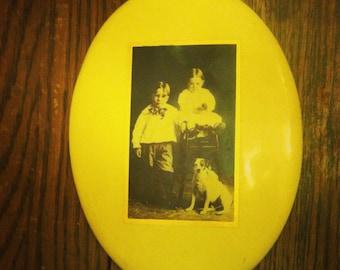 1900's Children and Dog