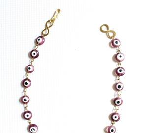 Choker, Choker necklace, Purple choker, African choker, Maasai choker, Maasai necklace choker, Bead choker, Beaded necklace