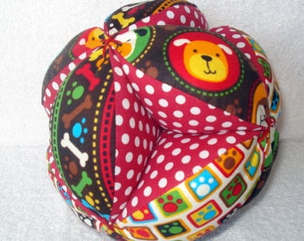 Baby Bow-Wow Puppy Easy-Catch Baby/Toddler Clutch Ball - Baby Shower Gift