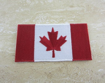 CANADA FLAG Patch Iron On