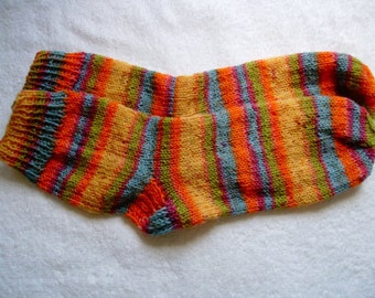 Hand Knit Women's Socks From Your Yarn - Custom Made Socks for Perfect Fit - Any Yarn is Welcome