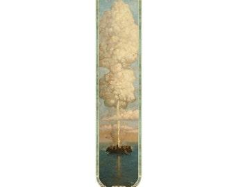 Gruger's Geyser Bookmark, Gnemo, Tom Kidd, fantasy, art, science fiction