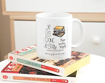the Mug I read so I'm reading gift book addicts, passion reading mug
