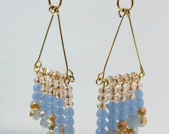 Chandelier earrings 3.5 inches