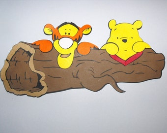 Tigger and Winnie the Pooh Die Cut