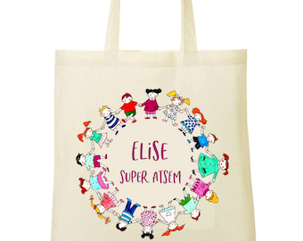 Tote bag for school to customize