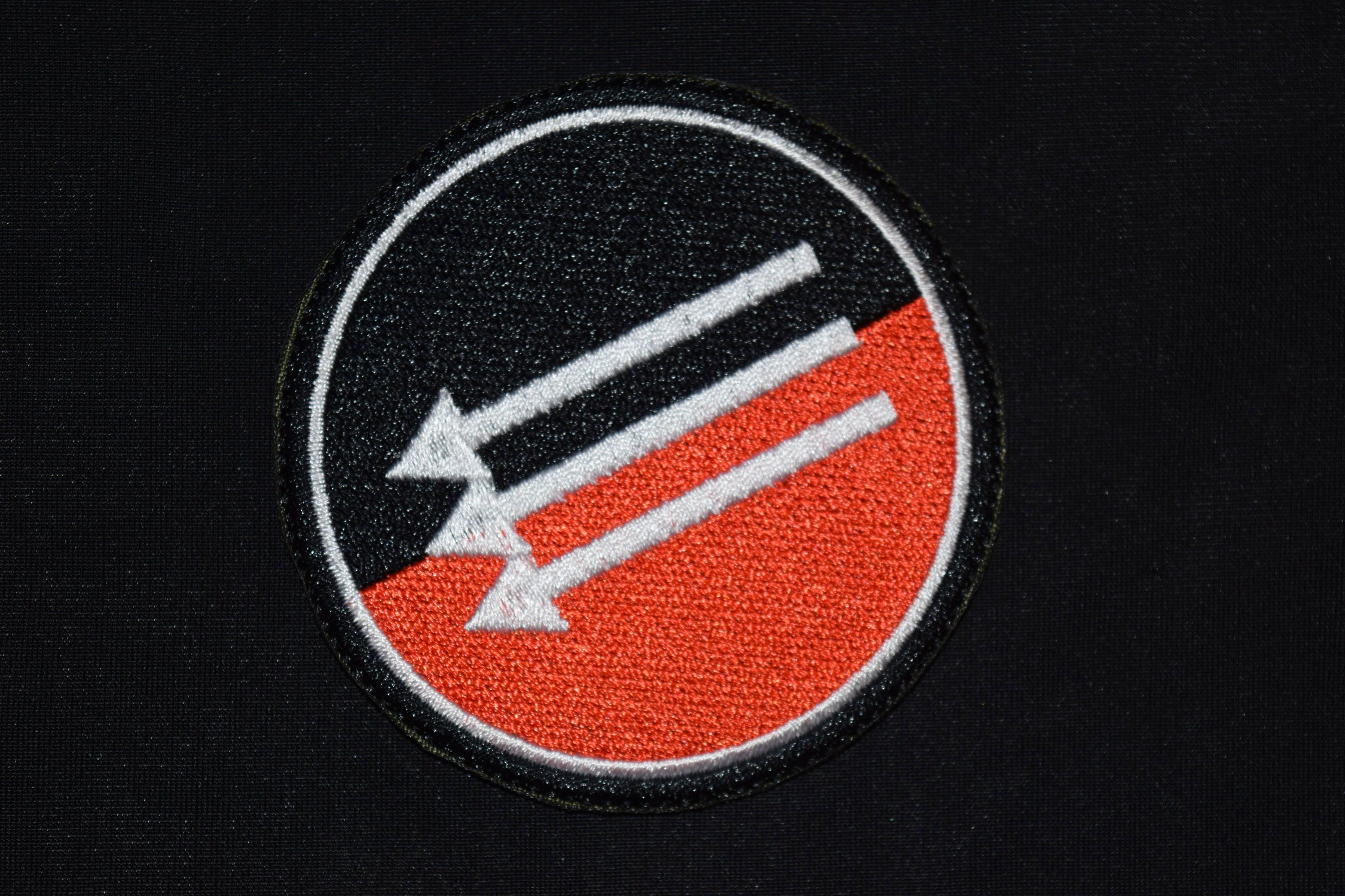 Antisocial patch always antifascist antifa symbol talisman zoom buycottarizona