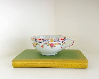 Vintage Oriental Tea Cup China Asian Bridal Shower Tea Party Wedding Table Decor Drinkware Collectible