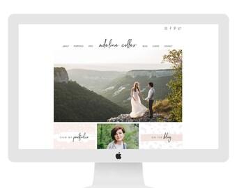 Wix Website design website template photography website