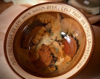 Small Inscribed Bowl