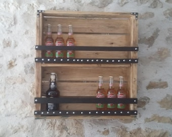 Wall Mount beer or other wood