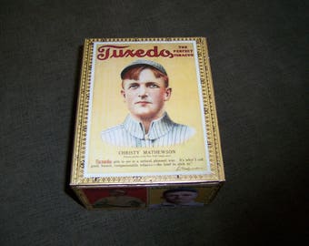 Giants Christy Mathewson Cigar Box