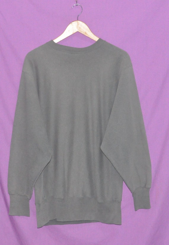 90s Size x Weave Crewneck Sweatshirt PHISH Sweater Reverse Champion Large Band Vintage Rock Oqw76dO1
