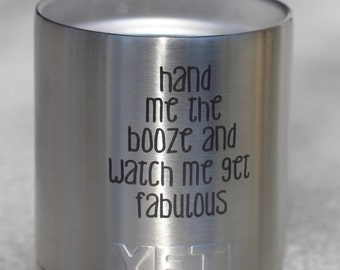 10 oz Yeti Custom Engraving Stainless Steel