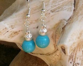"Pearl Earrings ""Maria"""