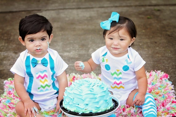 Boy Girl twin birthday outfit boy girl twin outfit boys