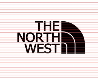 The North West Decal Sticker nw pnwPacific WA OR ID Washington Seattle Portland