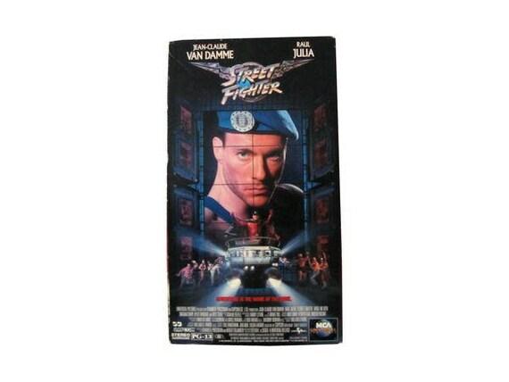 Street Fighter VHS