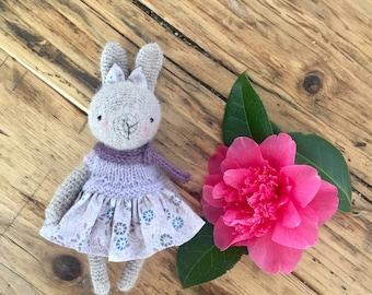Bunny rabbit-Amigurumi bunny-Bunny plush