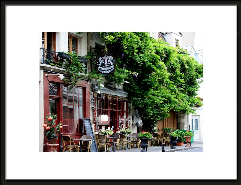 Paris-Wand-Dekor Paris Fotografie Paris Cafe Paris Cafe