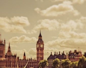 "London photography, travel photography, London art print - ""The London Sky"""
