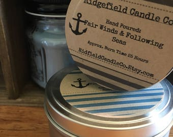 Fair Winds & Following Seas Soy Candle