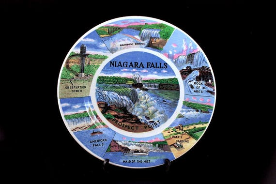 Niagara Falls, Souvenir Plate, Display Plate, Collectible