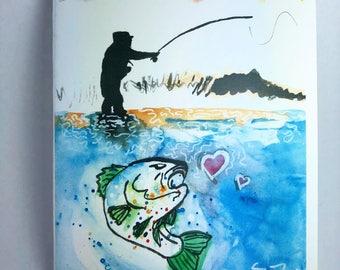Fisherman's Greeting Card