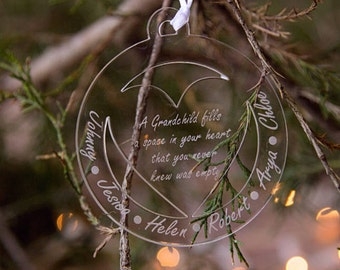 Oma and Opa Ornament- Oma and Opa - Grandparent Ornament - Grandparent Gift - Ornaments for Grandparents - Oma and Opa Gift