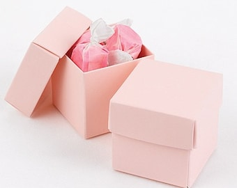 Pink Favor Boxes (Pack of 25) Wedding Party Favors