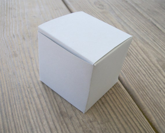 Large Printable Cube Box Template All Occasion Favor Box Pdf