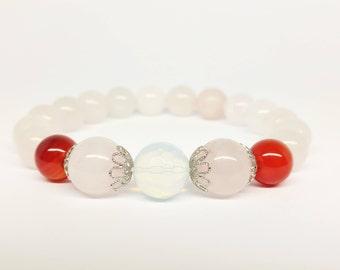 Fertility Bracelet Infertility Jewelry Fertility PCOS Fertility Bracelet Infertility Gift IVF Healing Bracelet  Gift for Wife Gift for Her
