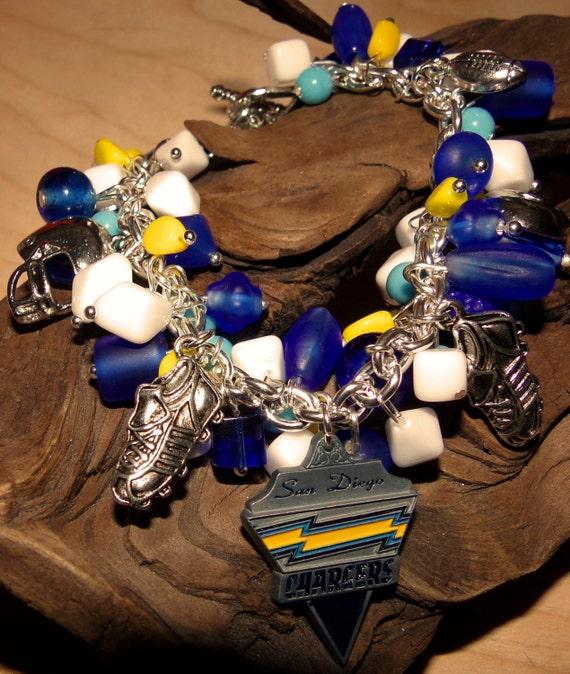 Chargers Bracelet