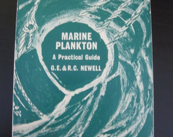 """Vintage Book """"Marine Plankton a Practical Guide"""