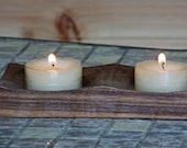Wooden Tealight Candle Ho...