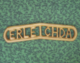 Erleichda Carved Sign-Jitterbug Perfume