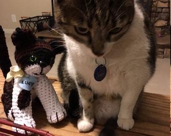Made-To-Order Custom Amigurumi Cat